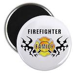 """Firefighter Family 2.25"""" Magnet (100 pack)"""