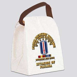 Just Cause - 193rd Infantry Bde Canvas Lunch Bag