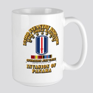 Just Cause - 193rd Infantry Bde w Svc Large Mug