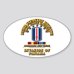 Just Cause - 193rd Infantry Bde w Sticker (Oval)