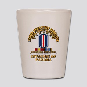 Just Cause - 193rd Infantry Bde w Svc Shot Glass