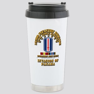 Just Cause - 193rd Infa Stainless Steel Travel Mug