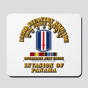 Just Cause - 193rd Infantry Bde w Svc R Mousepad