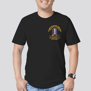 Just Cause - 193rd Inf Men's Fitted T-Shirt (dark)