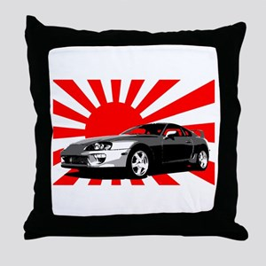 """""""Supra Japan"""" Throw Pillow"""