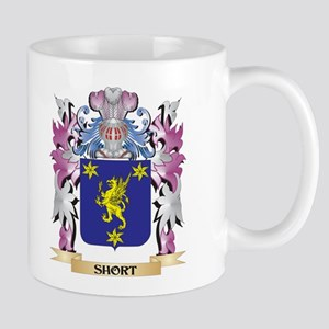 Short Coat of Arms - Family Crest Mugs