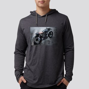 retro motorcycle Long Sleeve T-Shirt