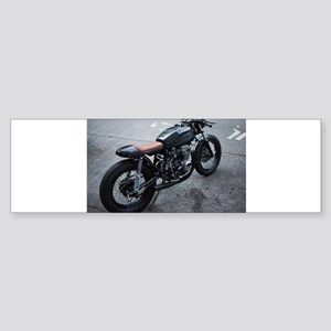 retro motorcycle Bumper Sticker