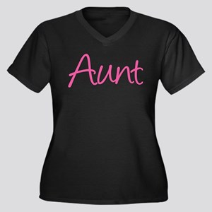 Favorite People Call Me Aunt Plus Size T-Shirt
