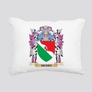 Sierra Coat of Arms - Fa Rectangular Canvas Pillow