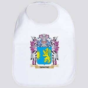 Simone Coat of Arms - Family Crest Bib