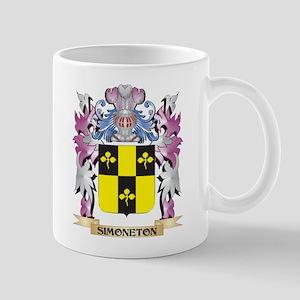 Simoneton Coat of Arms - Family Crest Mugs