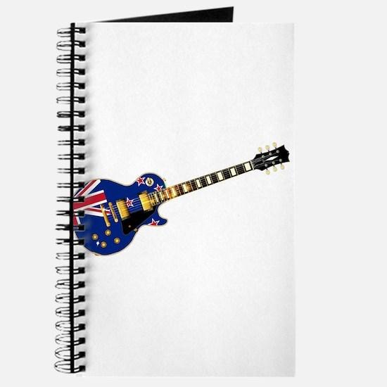 New Zealand Flag Guitar Journal