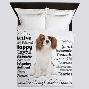 Cavalier Traits Queen Duvet