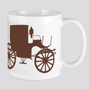 Old Brown Carriage Mugs