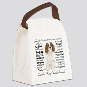 Cavalier Traits Canvas Lunch Bag