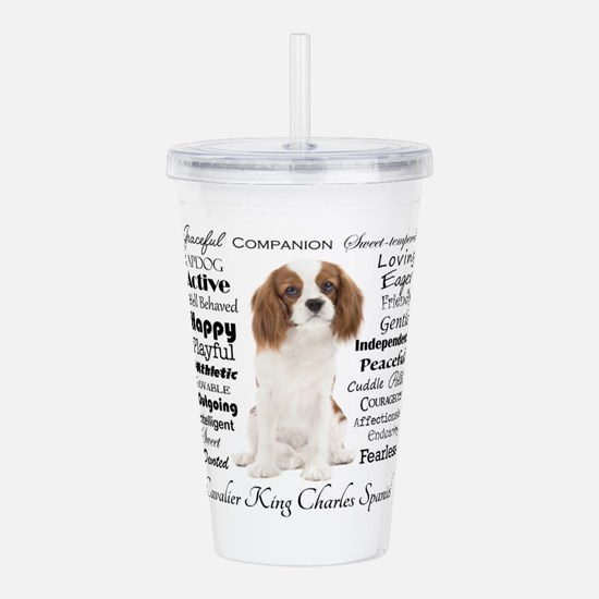 Cavalier Traits Acrylic Double-wall Tumbler