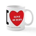 I Heart Actors Mugs