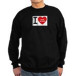 I Heart Actors Sweatshirt