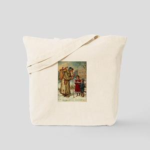 Victorian Xmas Tote Bag