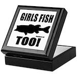 Girls Fish Too Keepsake Box