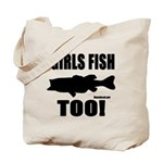 Girls Fish Too Tote Bag