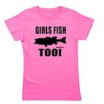 Girls Fish Too Girl's Tee