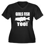 Girls Fish Too Plus Size T-Shirt