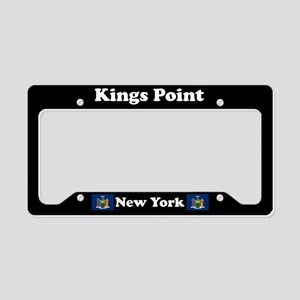 Kings Point NY - LPF License Plate Holder