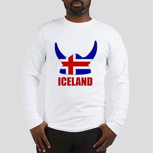 """Icelandic Viking """"Iceland"""" Long Sleeve T-Shirt"""