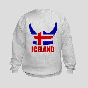 "Icelandic Viking ""Iceland"" Kids Sweatshirt"