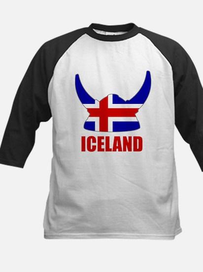 "Icelandic Viking ""Iceland"" Kids Baseball Jersey"