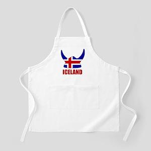 "Icelandic Viking ""Iceland"" BBQ Apron"