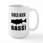 Girls Kick Bass Large Mug