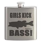 Girls Kick Bass Flask