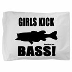 Girls Kick Bass Pillow Sham