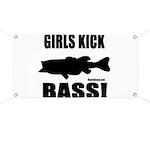 Girls Kick Bass Banner