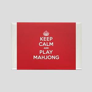 Keep Calm Play Mahjong Magnets