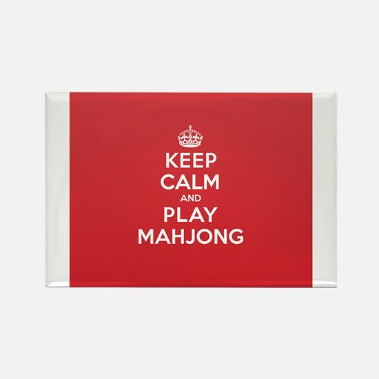 Keep Calm Play Mahjong Magnets