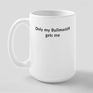 Bullmastiff Large Mug