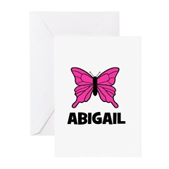 Butterfly - Abigail Greeting Cards (Pk of 20)