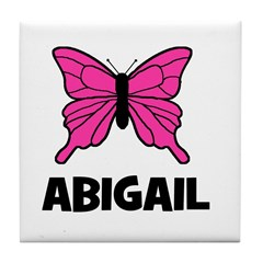 Butterfly - Abigail Tile Coaster