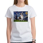 Starry / Saint Bernard Women's T-Shirt