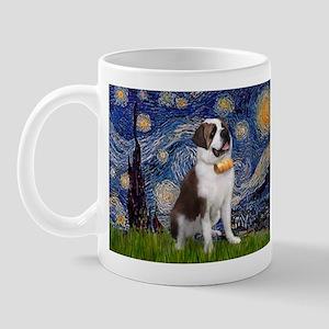 Starry / Saint Bernard Mug