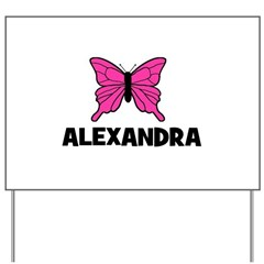 Butterfly - Alexandra Yard Sign