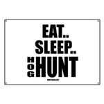 Eat, Sleep, Hog Hunt Banner