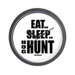 Eat, Sleep, Hog Hunt Wall Clock