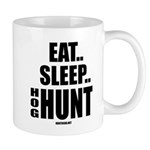 Eat, Sleep, Hog Hunt Mugs