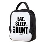 Eat, Sleep, Hog Hunt Neoprene Lunch Bag