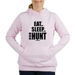 Eat, Sleep, Hog Hunt Women's Hooded Sweatshirt